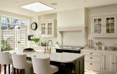 Classic Shaker Cabinets for a Kitchen and Laundry Room