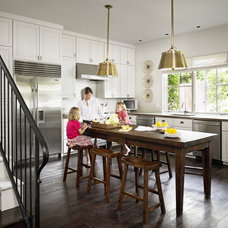 Traditional Kitchen by Hugh Jefferson Randolph Architects