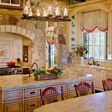 Traditional Kitchen by Bravo Interior Design