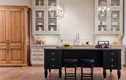 Your Kitchen: Mix Wood and Painted Finishes