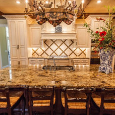 Transitional Kitchen by New Century Counter Tops