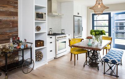 Kitchen of the Week: One Man's Vintage-Modern Mash-Up