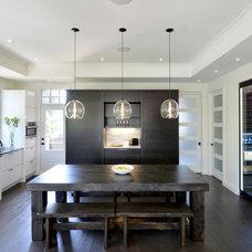 Contemporary Kitchen by Georgina Godin
