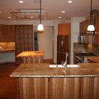 Historical Rehab Modern Kitchen Chicago By Jenna