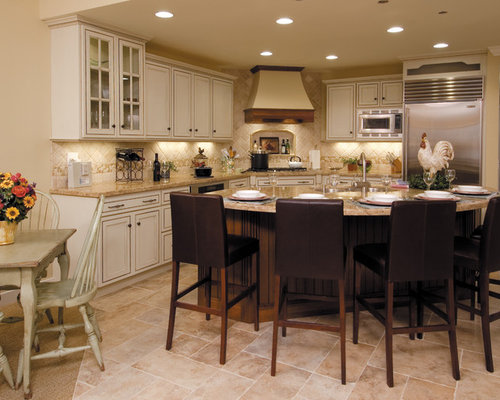 Starmark cabinetry home design ideas pictures remodel for Buttercream kitchen cabinets