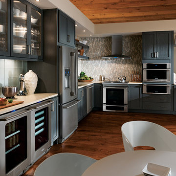 StarMark Cabinetry Kitchen with Gray Cabinets