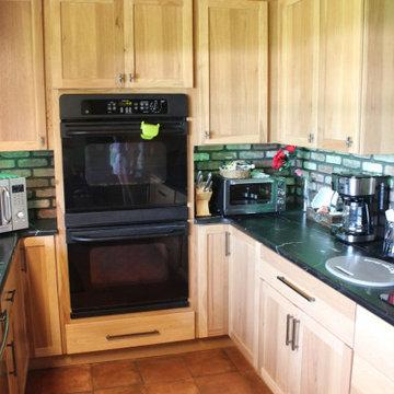 Starmark Kitchen, Dry Bar, Lockers in Hickory Bridgeport Oregano/Maple Sage