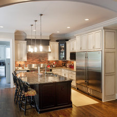Eclectic Kitchen by Cabinet Concepts, Greensboro