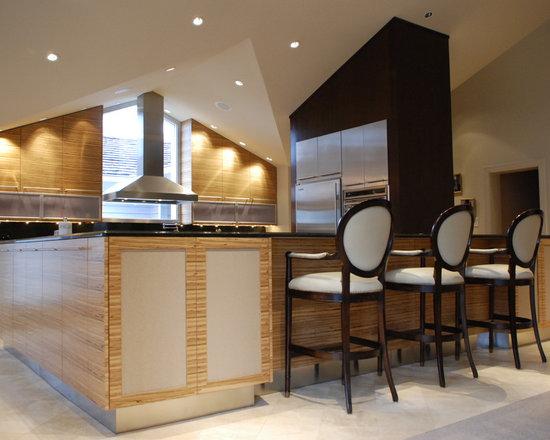 Modern Kitchen Layout Houzz