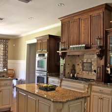 Traditional Kitchen by Jim Williams Construction Co Inc