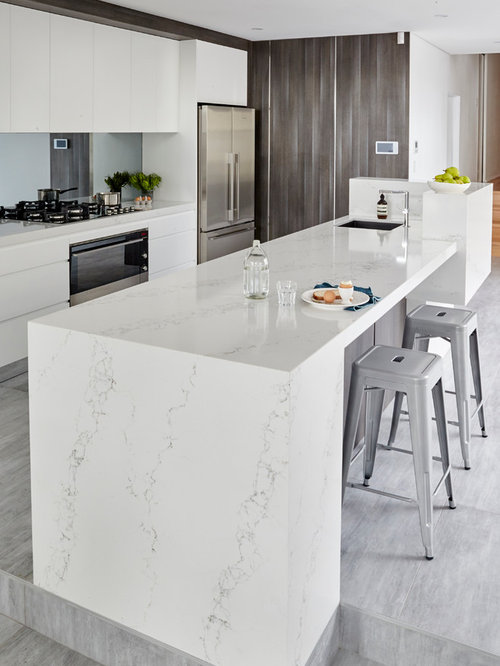 Statuario Quartz Houzz