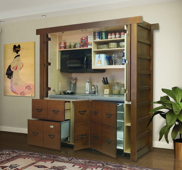 Asian Kitchen by YesterTec Design Company