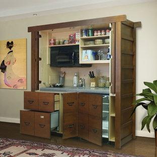 Stealth Kitchen Modules / Unfitted Complete Hidden Mini-Kitchen