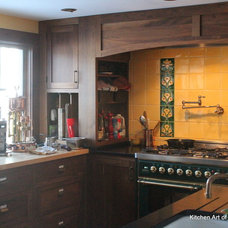 Eclectic Kitchen by Kitchen Art of New England LLC