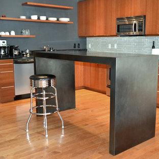 Steel Kitchen Island
