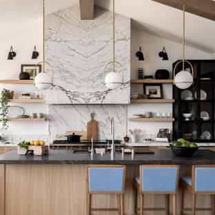 Cottage kitchen photo in Orange County