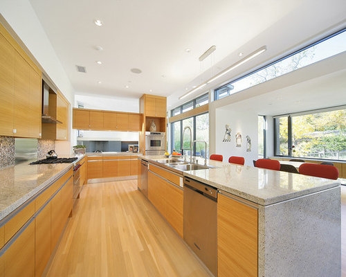 Rift Cut White Oak Cabinet | Houzz
