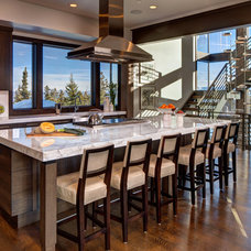 Contemporary Kitchen by Alan Blakely Architectural Photography