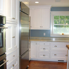 Traditional Kitchen by A.B. Powell Woodworks