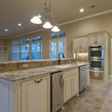 Traditional Kitchen by Allison Jaffe Interior Design LLC