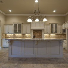 Traditional Kitchen by Allison Jaffe Interior Design LLC