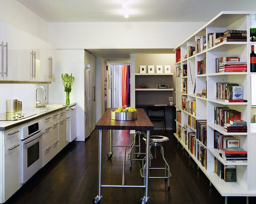 Long Counter Height Table | Houzz