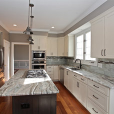 Transitional Kitchen by Envision Custom Builders, Inc.