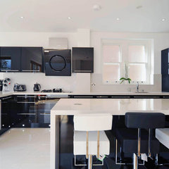 contemporary kitchen by Ebstone