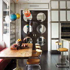 eclectic kitchen by ABRAMS
