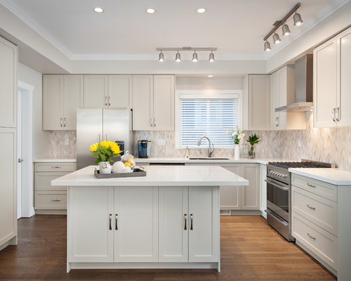 Galley Kitchen Track Lighting Houzz
