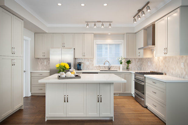 Transitional Kitchen by The Spotted Frog Designs