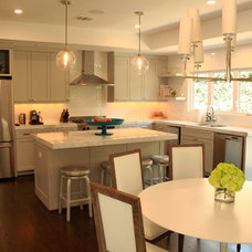 Transitional Kitchen by Smartwood Cabinets