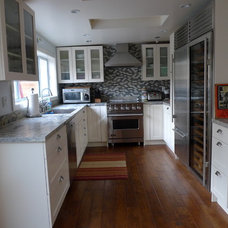 Contemporary Kitchen by Irwin Fisher, Inc.