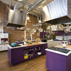 Industrial Kitchen by Momoko Morton