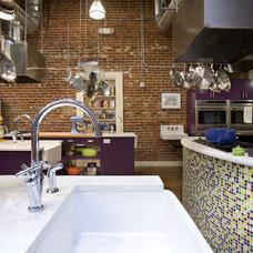 Industrial Kitchen by Momoko Morton