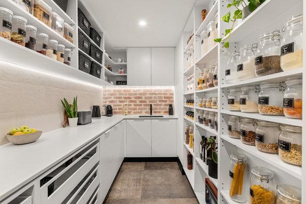 Contemporary Kitchen by Crib Creative