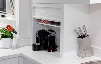 Houzz Tips: 11 smarte måder at opbevare dine køkkenmaskiner på