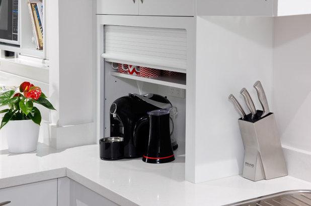 Houzz Tips: 11 gode måder, hvorpå du kan opbevare dine køkkenmaskiner
