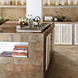 Stocked Tile - Kashmir Earth Tile available @ First Flooring & Tile, Inc.
