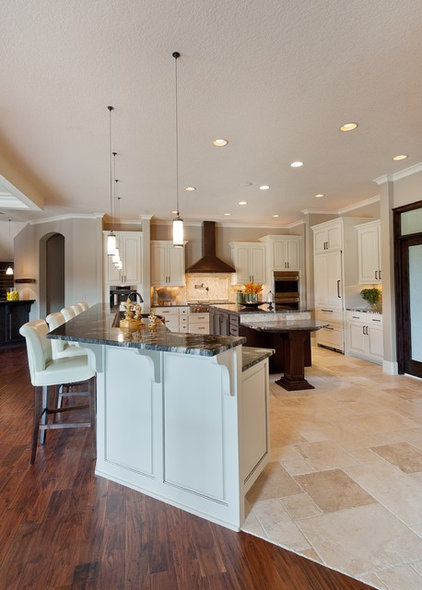 Traditional Kitchen by DirectSource Floors
