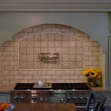 Traditional Kitchen by Stone Source