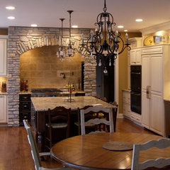 eclectic kitchen by Zook Kitchens