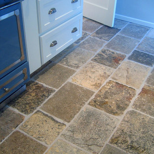 Stone Floor – Antique, Reclaimed Limestone 'Dalle de Bourgogne' pavers