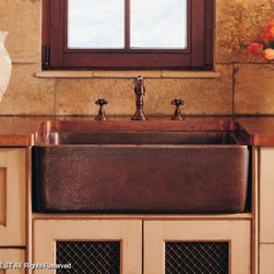 Stone Forest Farmhouse Sinks - Stone Forest Kitchen Farmhouse Stone and Copper Sinks