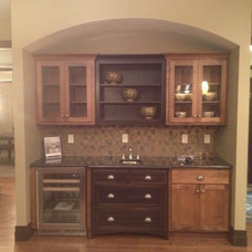 Craftsman Kitchen by Atkins Family Builders