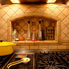 mediterranean kitchen by Evan Travels Photography