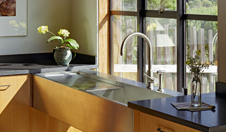 7 Chic Sinks for All Kinds of Kitchens