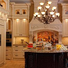 Traditional Kitchen by Parsiena Design Mantels & Architectural Elements