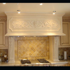 Mediterranean Kitchen by Parsiena Design Mantels & Architectural Elements
