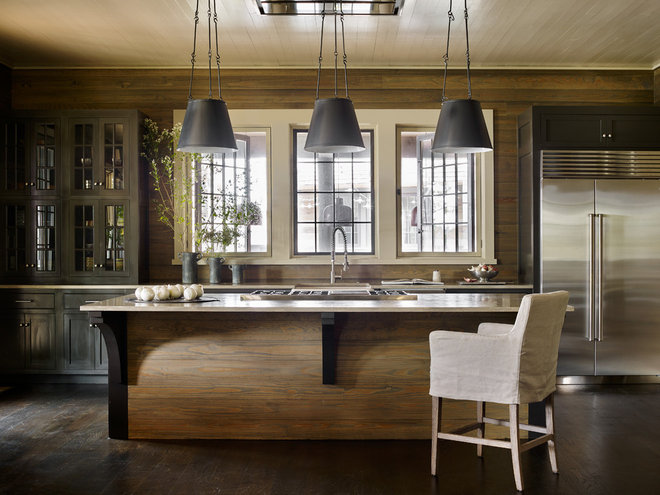 Beach Style Kitchen by Jeffrey Dungan Architects